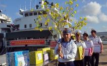 Cành mai, cây quất và những nụ hôn ở quân cảng