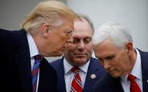 Ông Trump và ông Pence đã làm lành, nói chuyện trở lại?