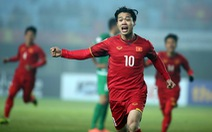 Công Phượng mang áo số 10 tại Asian Cup 2019