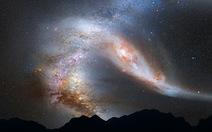 Dải thiên hà lao về hướng Trái đất có thể quét sạch sự sống hành tinh