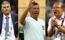 Ông Park so tài với Carlos Queiroz và Srecko Katanec