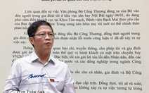 Bộ trưởng Bộ Công thương xin lỗi dân vụ xe biển xanh đón người thân