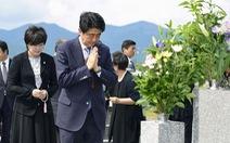 Thủ tướng Nhật thề trước mộ cha sẽ ký hòa ước với Nga
