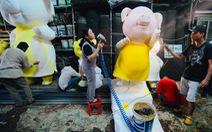 'Linh kiện' đường hoa Nguyễn Huệ 2019 đang được làm thế nào?