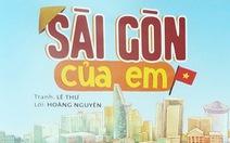 Sóc và bồ câu cùng độc giả nhí khám phá 'Sài Gòn của em'