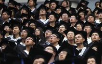 Kinh tế suy thoái, nhiều sinh viên Trung Quốc 'vỡ mộng vào đời'