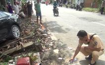 Video: Ôtô 4 chỗ tông sập tường nhà dân