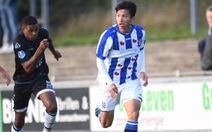 Văn Hậu đá trọn 90 phút, chơi năng nổ giúp Jong Heerenveen giành 1 điểm