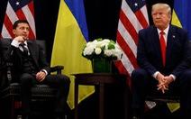 Tổng thống Ukraine lên tiếng về cuộc điện đàm gây 'chấn động' với ông Trump