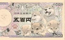 Nhật sắp phát hành tiền giấy in hình chó Shiba vào năm 2024?