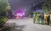Chạy xe máy trong đường nội bộ với tốc độ cao, 2 thanh niên chết tại chỗ