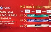 Vé trận Việt Nam - UAE bán hết trong 'một nốt nhạc'