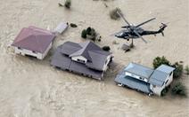 Nhật triển khai 27.000 binh lính và nhân viên cứu hộ giúp dân vượt qua lũ lụt