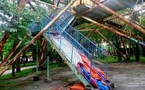 Công viên Tuổi trẻ Thủ đô: Nỗi xót xa giữa lòng Hà Nội