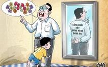 Gương xấu cho con