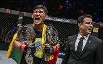 Đánh bại đối thủ bằng cú xoay người đánh chỏ, võ sĩ Myanmar được thế giới ngưỡng mộ