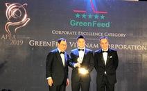 GreenFeed được vinh danh doanh nghiệp châu Á - TBD2019