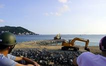 Tạm dừng thi công dự án lấp biển làm thủy cung ở Vũng Tàu