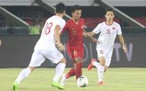Indonesia - Việt Nam (hiệp 1) 0-0: Việt Nam nhập cuộc tự tin