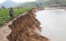 Tạm đình chỉ giấy phép doanh nghiệp mua đất ruộng để khai thác cát
