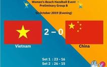 Đánh bại Trung Quốc và Argentina, tuyển bóng ném nữ Việt Nam vào bán kết giải thế giới