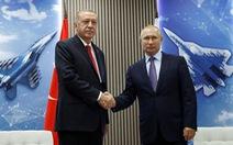Nga mời Tổng thống Thổ sang bàn chuyện Syria