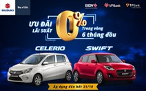 Suzuki hỗ trợ trả góp không lãi suất cho khách hàng mua ô tô