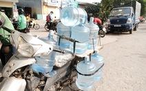 Hỏa tốc ngăn chặn lũng đoạn thị trường nước đóng chai ở Hà Nội