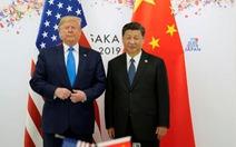 Ông Trump: Gặp ông Tập rồi mới tính chuyện ký thỏa thuận thương mại