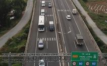 Tài xế chê đường cao tốc TP.HCM - Trung Lương, quay lại đi quốc lộ 1