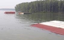 Tàu container chìm ở sông Lòng Tàu, Cần Giờ