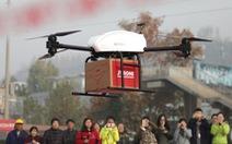 Trung Quốc cấp phép thí điểm giao hàng bằng máy bay không người lái