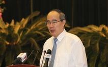 Bí thư Nguyễn Thiện Nhân: 'Luật pháp về xây dựng, đầu tư, quản lý đất đai còn xung đột'