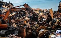 Hơn 1.800 tấn chất thải đã được thu gom sau vụ cháy Công ty Rạng Đông