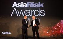 Techcombank tiếp tục được Asia Risk vinh danh 'Ngân hàng xuất sắc nhất Việt Nam'