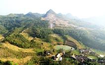 Phá núi xây khu du lịch tâm linh nơi cột cờ Lũng Cú