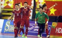 Video cú sút 'sấm sét' ghi bàn của tuyển thủ futsal Việt Nam