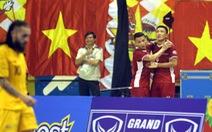 Futsal Việt Nam lần đầu tiên đánh bại Úc