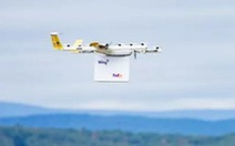 Dịch vụ giao hàng bằng máy bay không người lái đầu tiên ở Mỹ
