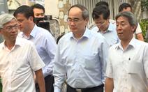 Video: Bí thư Nguyễn Thiện Nhân kiểm tra công trình trái phép của phó chủ tịch HĐND Thủ Đức