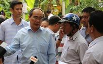 Bí thư Nguyễn Thiện Nhân kiểm tra công trình trái phép của phó chủ tịch HĐND Thủ Đức