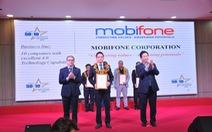 MobiFone nhận cú đúp danh hiệu doanh nghiệp CNTT hàng đầu Việt Nam 2019