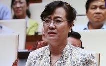 Bà Nguyễn Thị Quyết Tâm rơi nước mắt nói về lương và giờ làm thêm của công nhân