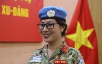 Nữ sĩ quan xinh đẹp của Việt Nam đi gìn giữ hòa bình tại Nam Sudan
