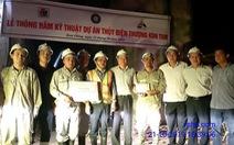 Thủy điện Thượng Kon Tum thông hầm kỹ thuật tuyến năng lượng