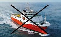 Tàu Hải Dương Địa chất 8 rút khỏi vùng biển Việt Nam, hướng về Trung Quốc
