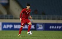 Trung vệ Đình Trọng trở lại đội tuyển U22 Việt Nam dự SEA Games 30
