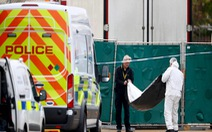 Bắc Kinh chưa xác nhận 39 thi thể đông cứng trong xe tải ở Anh là người Trung Quốc