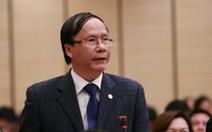 HĐND Hà Nội miễn nhiệm trưởng Ban Pháp chế 'hay chất vấn' Nguyễn Hoài Nam