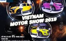Suzuki Celerio 'lột xác' ấn tượng tại triển lãm ôtô Việt Nam 2019